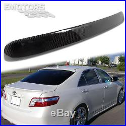 READY TO SHIP Carbon FOR TOYOTA Camry Asia Model Sedan Rear Roof Spoiler Wing