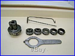 RIDGID Nipple Chuck Kit Model 819 for Pipe Threading 1/2- 2 Free Shipping