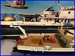 Revell 1125 JACQUES YVES COUSTEAU'S SHIP CALYPSO Assembled Model for display
