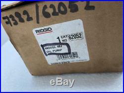 Ridgid 62052 Model Mj Oil Pump For Threading Machine-free Shipping