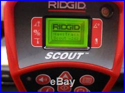 Ridgid Model Scout Locator For Sewer Camera Worldwide Shipping CLEAN #7