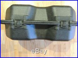 SEE DESCRIPTION FOR SHIPPING 24-MSA Hard Carrying Case Black Polyethylene 492435