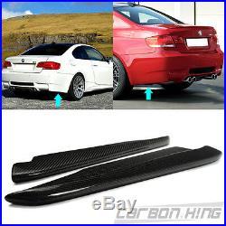 SHIP OUT IN 1 DAY Carbon For BMW E92 E93 M3 Model Rear Bumper Side Splitter 13