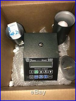 SHORE Model 930 Moisture Tester for Grain -Brand New In The Box + Free Shipping
