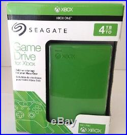 Seagate 4TB Game Drive for Xbox One USB 3.0 Model STEA4000402 #34101 SHIPS FREE