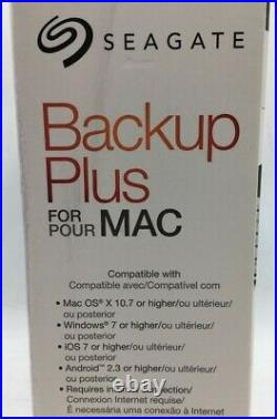 Seagate Backup Plus Desktop Drive Model SRD00F2 For MAC (Free Ship!) (Warranty!)