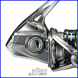Shimano Complex CI4+ 2500S F6 HG HAGANE X-SHIP High Gear Model For Bass Fishing
