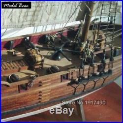 Ship Model Kit DIY Educational Games For Grownups Wooden Ship Model Laser Cut