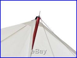 Snow Peak HD tarp Hekisaevo Pro. Off White for 6 people TP-260IV Fast Shipping