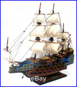 Sovereign of the Seas Handcrafted Ship Model Ready for Display