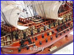 Sovereign of the Seas Wooden Ship Model Ready for Display 35