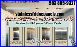 Sub-Zero Refrigerator Paneling for models 532 & 632 units $495 FREE SHIPPING