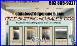 Sub-Zero Refrigerator Paneling for models 550 & 650 units $450 FREE SHIPPING
