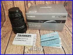 TAMRON SP 15-30mm F/2.8 Di VC USD G1 Version 1- For Canon EF FREE SHIPPING