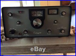 Ten Tec Century 21 Transceiver Model 570 for Parts or Restore. Free Shipping