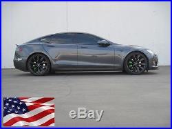 Tesla Model S Front Spoiler Carbon Fiber for Pre-Facelift Ships from USA