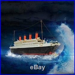 Titanic Building Blocks Lego Ship Model Set The Kit For Kids Adult Large Toy 3D