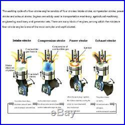 Toyan 4-stroke Methanol Engine Model for 110/112/114 RC Car Ship Airplane