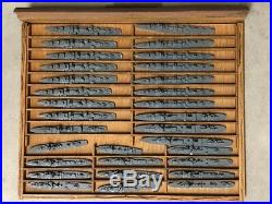 U. S. Navy recognition models for US Navy and allied ships. H. A. Framburg, Chicago