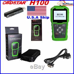 US Ship OBDSTAR H100 fit for Fo-rd/Mazda 2017/2018 Models like F150/F250/F350