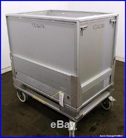 Used- Sartorius Stedim Palletank For Shipping, Model PLT 500 AL, Approximate 500