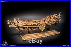Utrecht Pegasus Scale 1/50 17.71 Wood Ship static model Ready for display