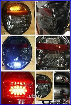 VW Beetle Bug Smoked LED Tail lights for 1973-79 models NEW Rare Ship Free inUSA