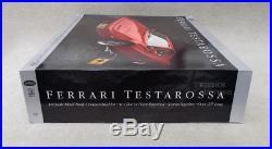 Vtg POCHER FERRARI TESTAROSSA MODEL KIT w SHIP CARTON SEALED FOR CHRISTMAS