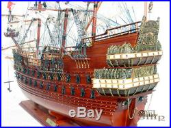 Wasa Wooden Ship Model Ready for Display
