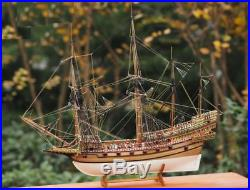 Wooden ship Royal Navy kit Scale 1/96 REVENGE 1577 DIY model for adults NEW