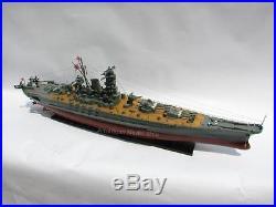 Yamato Japanese Battleship 47 Ready For Display Wooden Model